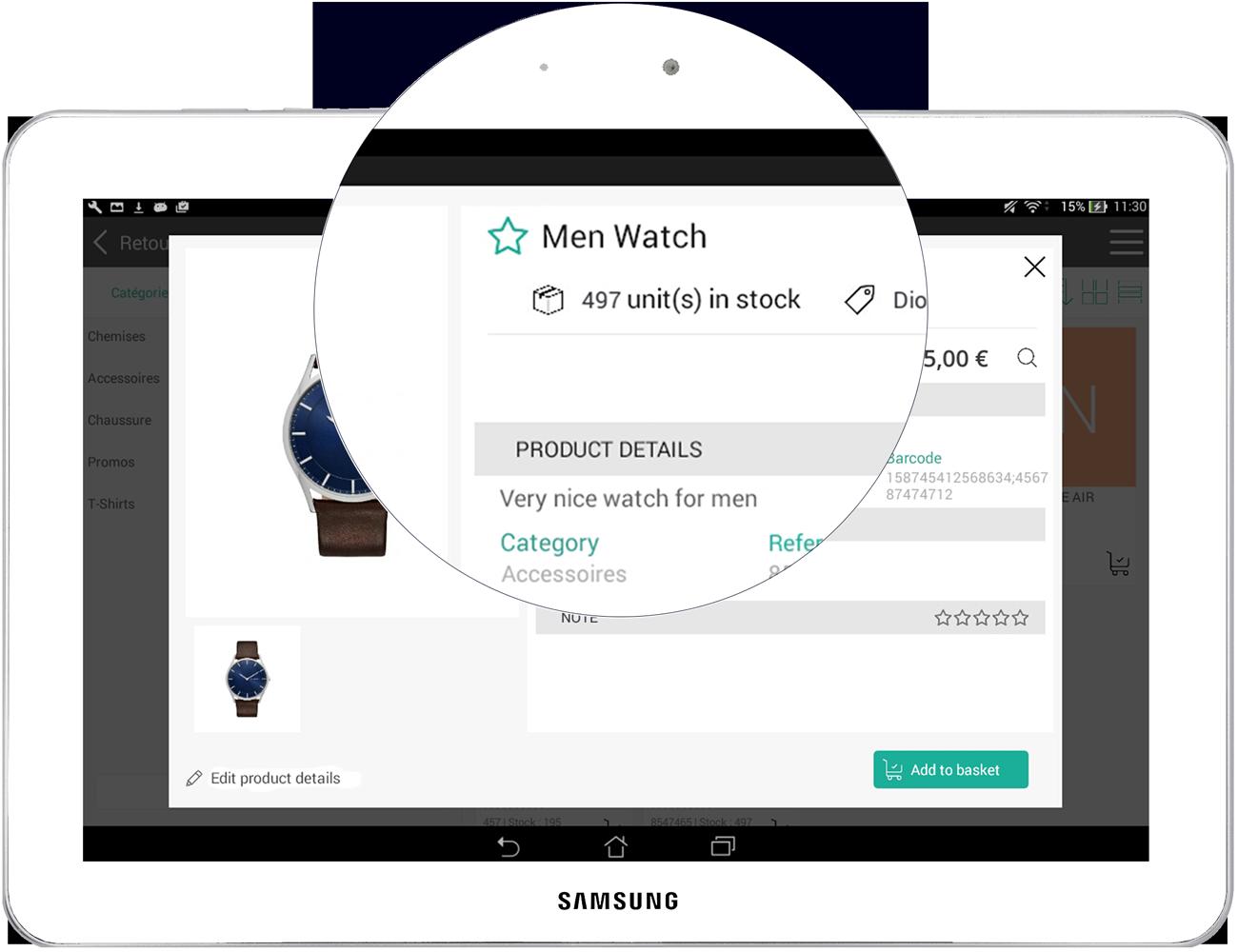 Le logiciel de caisse RoverCash permet de gérez vos stocks en temps réel
