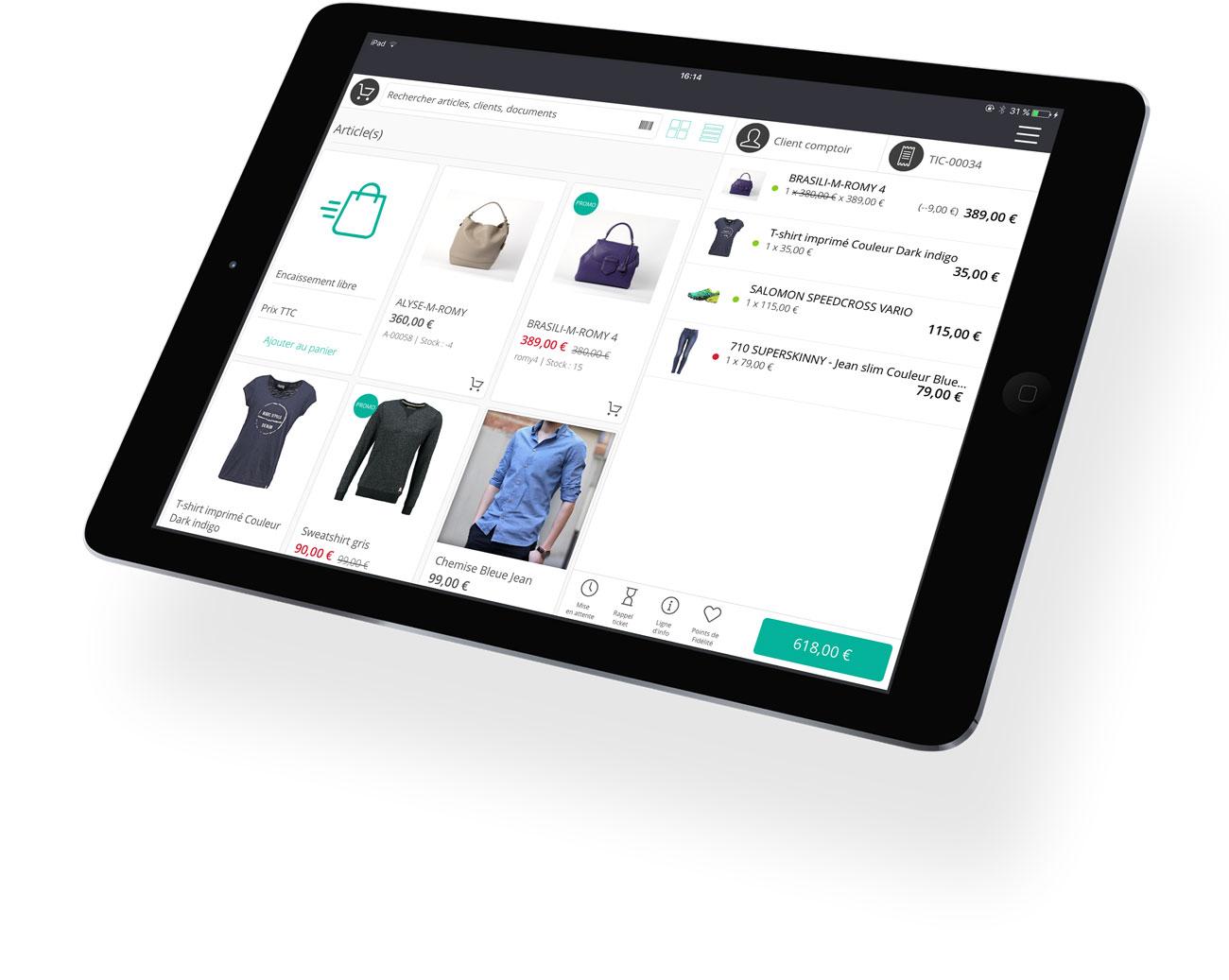 Le logiciel de caisse tactile RoverCash, un véritable outil de gestion pour les commerçants