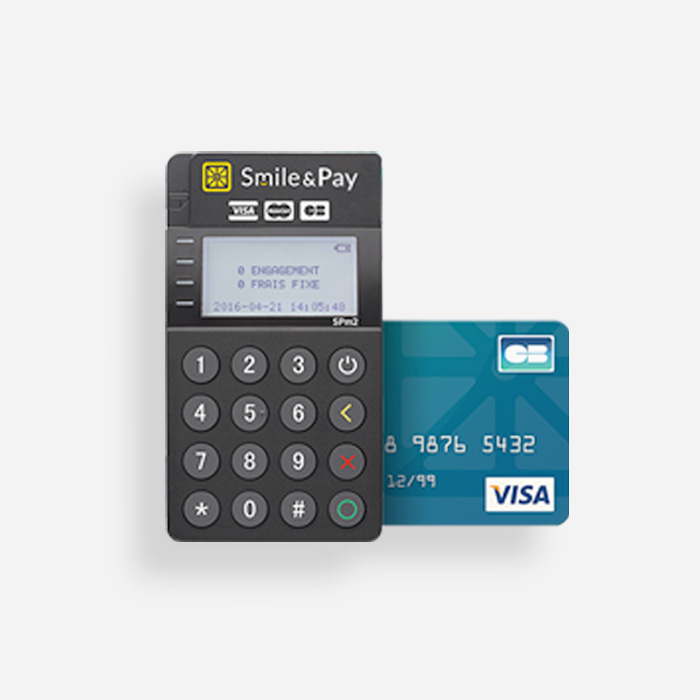 Utilisez le TPE Smile&Pay avec RoverCash