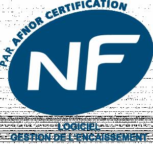 NF 525 logiciel gestion d'encaissement